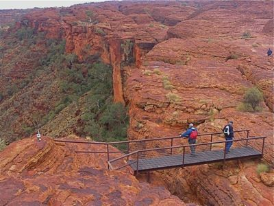 Kings Canyon Guided walking