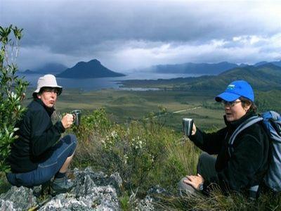 Mt Eliza tea break Guided Walks