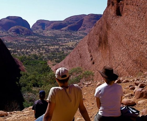 View of Kata Tjuta on our Central Australia Tours - Red Centre Tours and Uluru