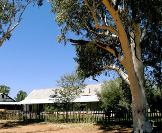 Original site of the old Hermannsburg Lutheran Mission set up to assist the Aboriginal People in 1877, now a centre for cultural tourism and fine works by Aboriginal artisans