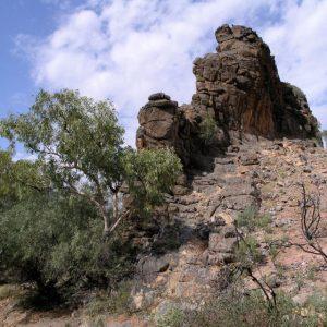 Corroboree Rock on the Central Australia Red Centre Tour