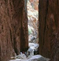 Standley Chasm - an outback feature when you travel in Australia