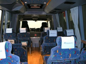 Inside Nature Bounds comfortable 4wd coach