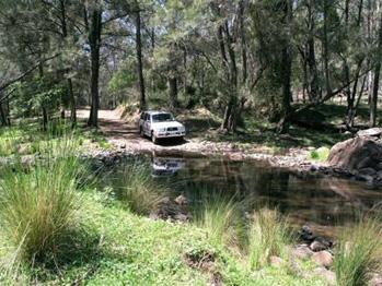 Our luxury 4wd vehicles negotiate Australia's bush tracks