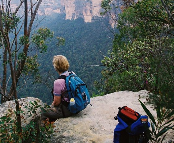 Time for some mindfulness peering into the Kanangra Walls wilderness on  closing day of the Great Divide Tour