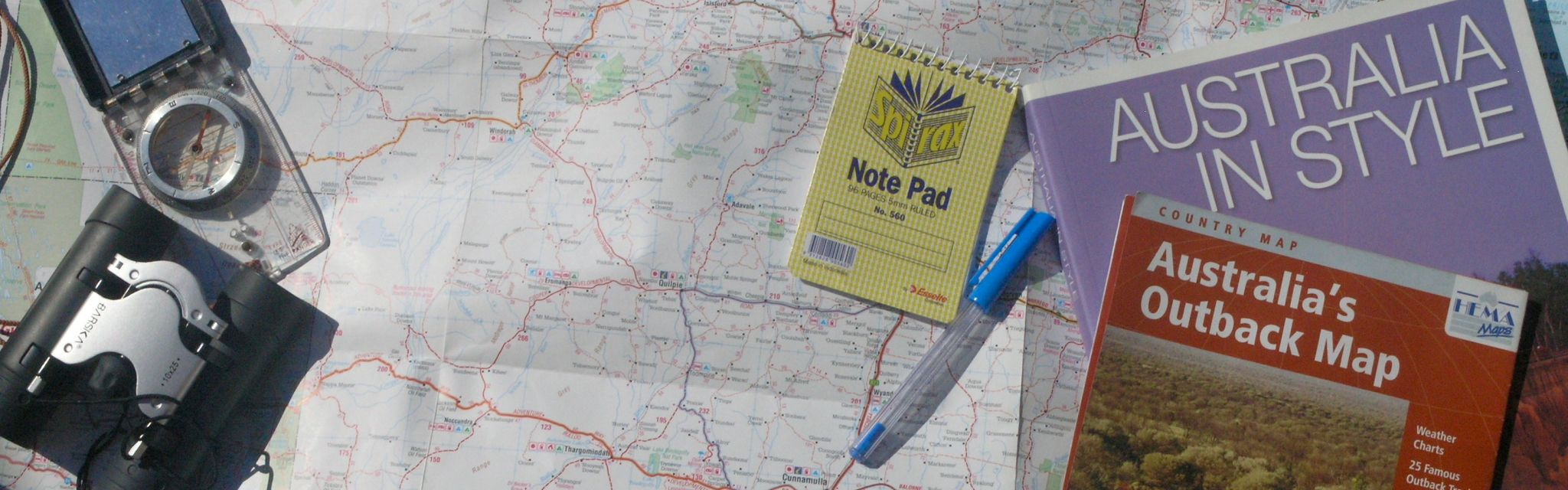 Maps, reference books and note taking for our Tailored Group Tours