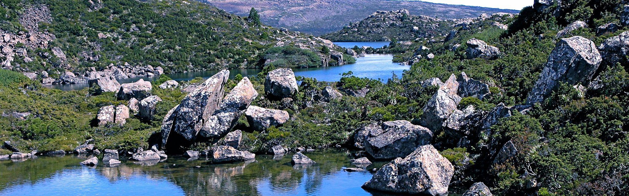 Beautiful Tarn Shelf Mt Field National Park on Nature Bound Australia tour