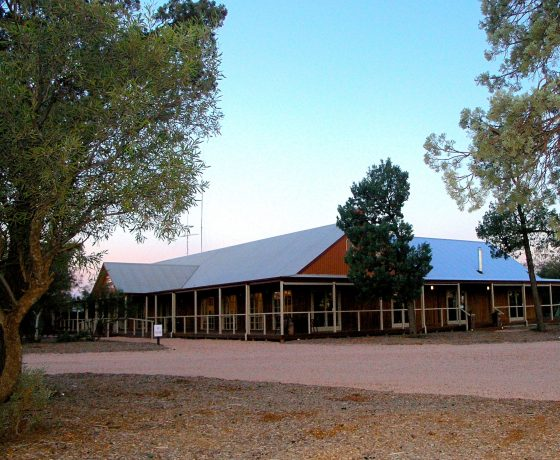 Luxury cabins at Mungo Lodge offer comfort and a modern touch in an otherwise remote, heritage rich region
