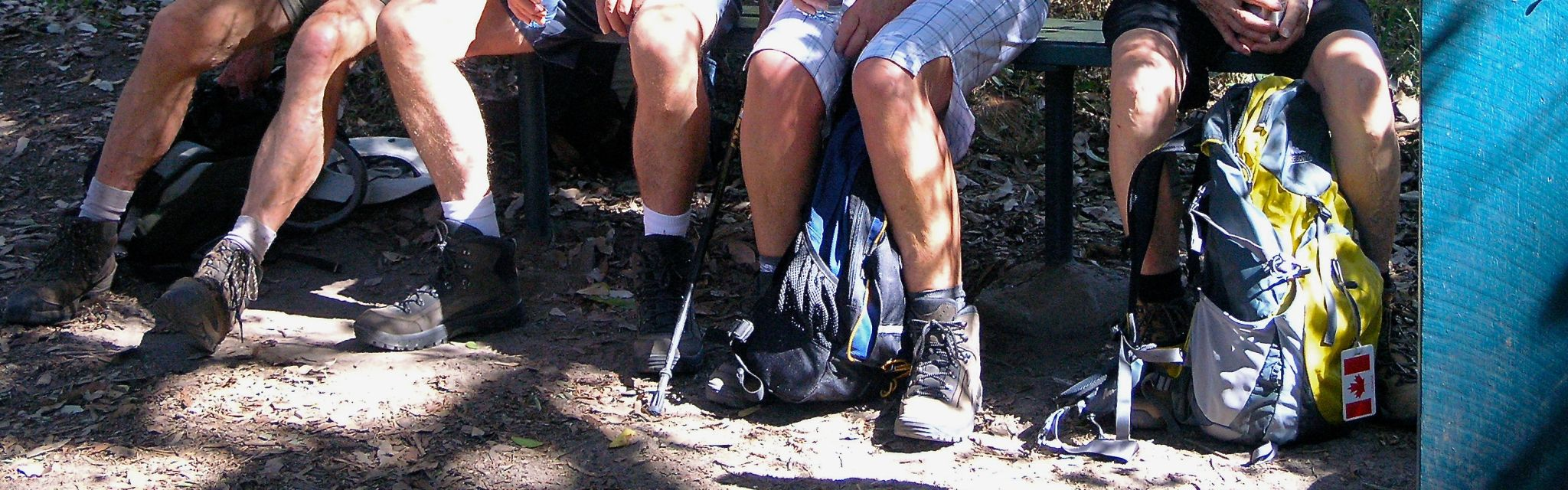 Boots and legs set for walking on our Australian guided walking holidays