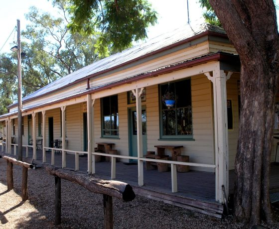 """Established in 1864, The Nindigully Pub sits alone in the """"back of beyond"""" but has wowed tour guests on every visit for its quirky country history and generous hospitality of no equal"""