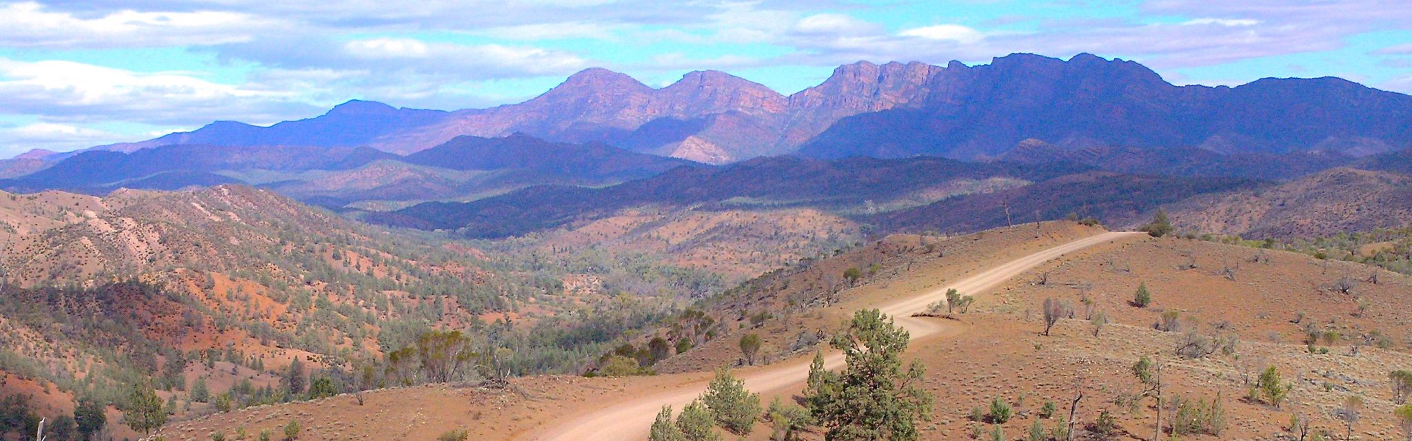 Flinders Ranges, part of the Flinders Ranges Lake Eyre Red Centre Tour
