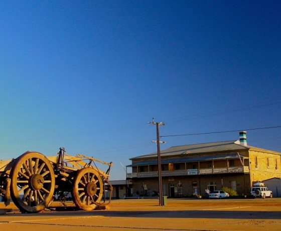 Marree and its historic hotel sit at the junction of two legendary outback tracks to Birdsville and Oodnadatta and the last stop to the extraordinary salt sink of Lake Eyre
