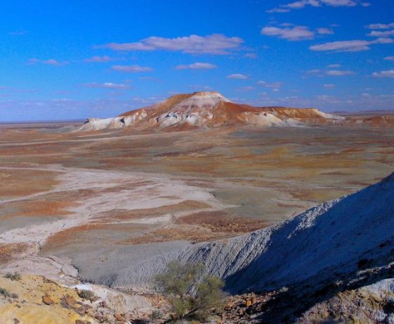 Located between Oodnadatta and Coober Pedy the Painted Desert is a striking example of geological weathering
