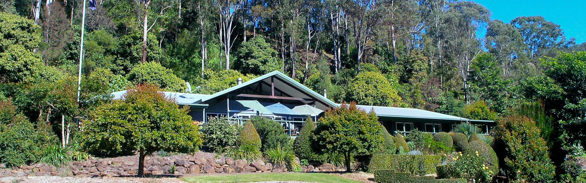 Cougal Park accommodation for our Border Ranges Short Break Tour