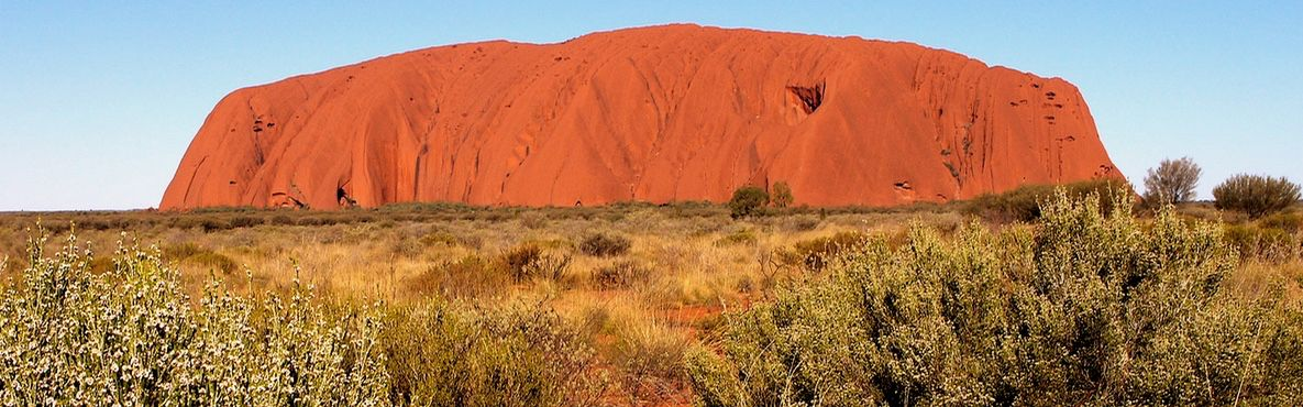 Uluru a feature of our Flinders Ranges Lake Eyre Red centre Tour