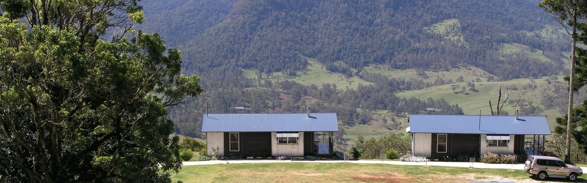 Spring Creek Cottages on our Border Ranges Short Break Tour