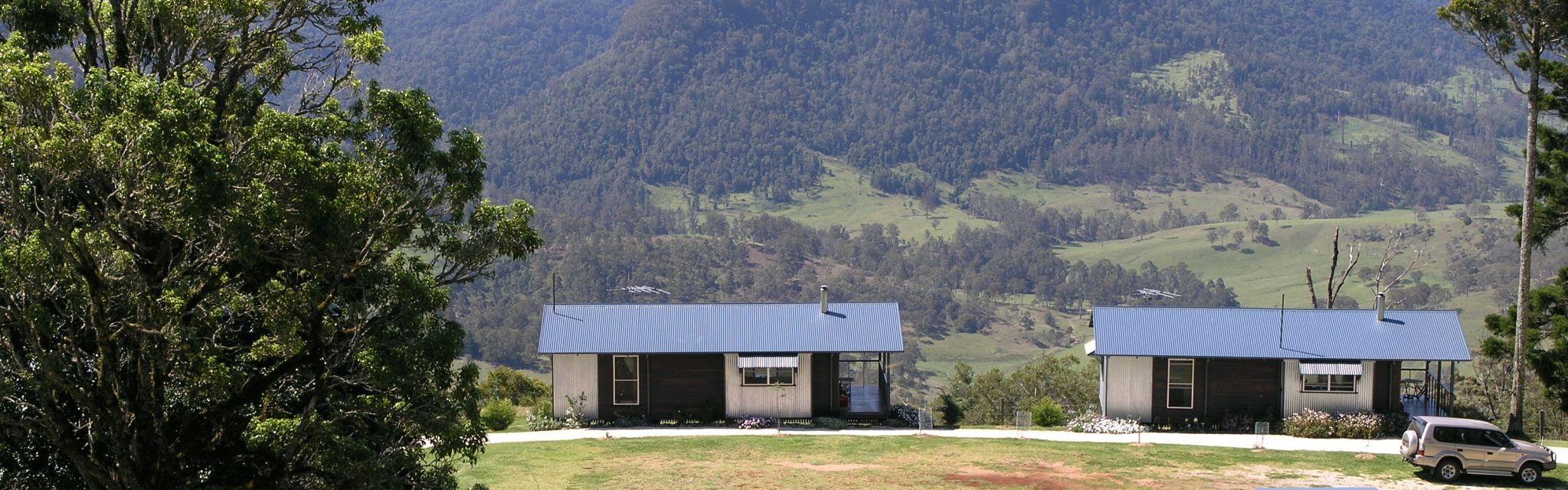 Spring Creek Cottages on our Border Ranges Short Break Tour