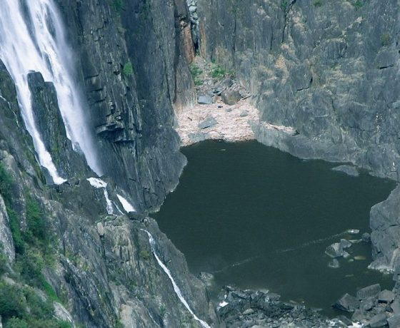 One of the highest waterfalls in Australia tumbles into the tortuous gorge at Wollomombi where the Great Divide and New England Tableland continue to resist the erosive forces of time