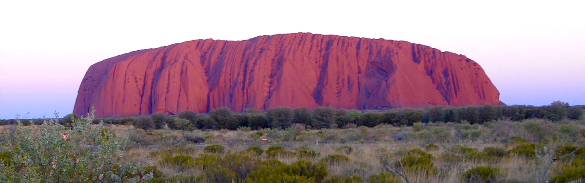 Uluru at Sunset on the Central Australia Red Centre Tour