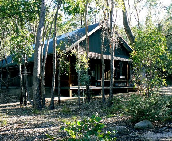 Individual self contained Girraween Environmental Lodges are scattered throughout the bush close to the Girraween National Park
