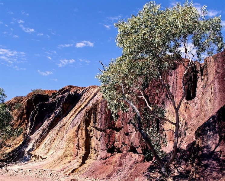 Ochre Pits of Central Australia