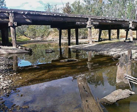 Ancient inland river on Western Downs Journey